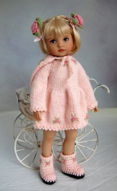 Dianna Effner 10 Doll Tuesday's Child.