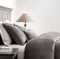 Washed Velvet Bedding Collection