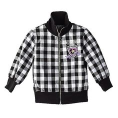 Disney Jonas Brothers Plaid Zip Jacket Size Medium (10-12) NWT Girls #Disney #BasicJacket #Everyday