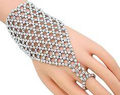 Exotic Belly Dancing Fashion Beaded Slave Bracelet