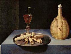 Lubin Baugin  -  Le Dessert de Gaufrettes  -  Musée du Louvre  -  Paris