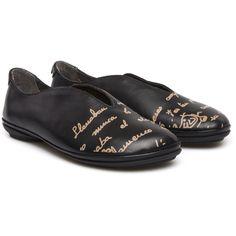 Camper Twins Negro Zapatos Planos Mujer 21788-001