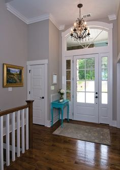 The Silvergate Plan #1254-D by Donald Gardner Architects - craftsman - Entry - Charlotte - Donald A. Gardner Architects