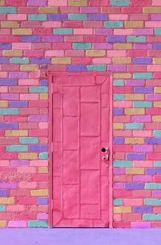 Best House Front Brick Shutters 42 Ideas house is part of Pink door - Wallpaper Backgrounds, Iphone Wallpaper, Art Texture, Everything Pink, Door Knockers, Pink Aesthetic, Doorway, Windows And Doors, Front Doors