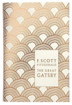 One of our all-time favourite American novels: The Great Gatsby by F. Scott Fitzgerald.