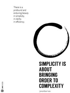 Quotes about simplicity and design - interpreted and designed by FYOOZ  #fyoozstudio    #design #quotes #simplicity #creative #balance