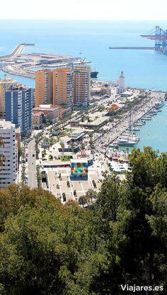 La ciudad de Málaga en la Costa del Sol, es un destino ideal, amable y acogedor en Andalucía. #Málaga #CostadelSol #Andalucía #Spain