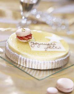 Bavarois au citron Un beau dessert de fêtes