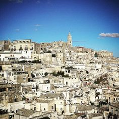 A #landscape #view the old #town center of #matera. A so #fascinating #city in #apulia #Italy. In my #imagination it looks like #minastirith of #lotr #travelling #travl3r #trip #tourist #twitter