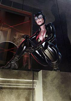 The Gotham City Sirens: Catwoman Batgirl, Batman Und Catwoman, Catwoman Cosplay, Héros Dc Comics, Heros Comics, Comics Girls, Bob Kane, Comic Book Characters, Comic Character