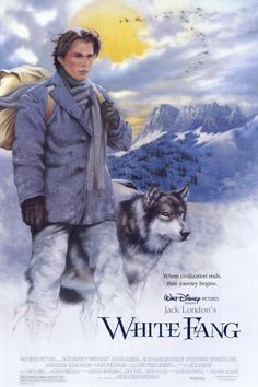 White Fang (1991) movie poster, starring Ethan Hawke. Read our review of this outdoor movie at: cottagemixtape.com Walt Disney Pictures, All Movies, Disney Movies, Dog Films, Film Poster Design, Ethan Hawke, Adventure Movies, The Best Films, Film Movie