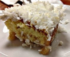 Wet Coconut Cake from Mike's Ellijay Restaurant