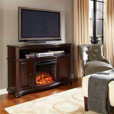 Merrill Media Electric Fireplace
