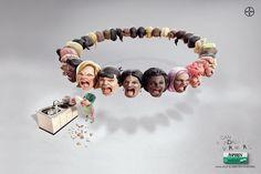 Le mal de #tête pareil pour #tous.   #Publicité #LNDP