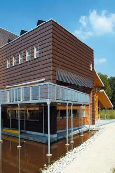 Another Wienerberger roof tile wall cladding design we love