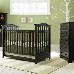 Bonavita 2 Piece Nursery Set Hudson Clic Crib And 5 Drawer Dresser In Cherry Free Shipping Baby Theme Ideas For Boys Pinterest