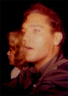 Elvis and Anita at the fairground in october 26 1960. Probably the last pictures of them before splitting in 1962.