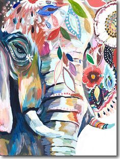 pinturaelefante acrilico - Buscar con Google