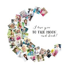 Click to see 'Love You To The Moon & Back!' on Minted.com