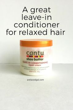 See why my Cantu Shea Butter Leave-in Conditioning Repair Cream. is a part of my relaxed hair regimen. | arelaxedgal.com