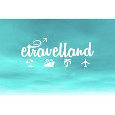#TravelAgency #LogoDesign for #eTravelland in #Burbank The travel agency logo…