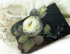 Mary JoLeaisure   White Rose by Mary Jo Leisure, MDA