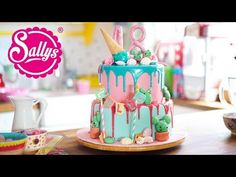 18th Birthday Cake / Geburtstagstorte zum 18. / Drip Cake - YouTube