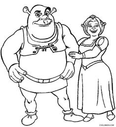 Printable Shrek Coloring Pages For Kids Cool2bKids Film TV