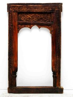 Berbere World Imports - 100-107-09---Indian Hand-Carved Wooden Window Frame, $500.00 (http://www.berbereworldimports.com/products/100-107-09-indian-hand-carved-wooden-window-frame.html/)