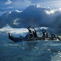 Hawaii - outrigger canoe