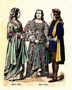 15th Century Italian Dress Braun & Schneider, History of Costume (1861-1880)