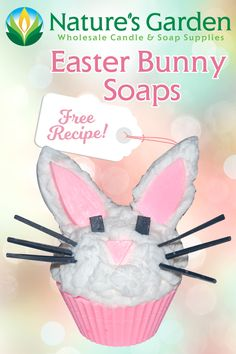 Free Easter Bunny Soap Recipe by Natures Garden