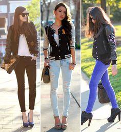 Capricha no Look: Varsity/College Jacket