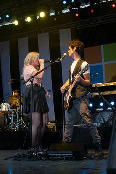 Cory Churko and Kelly Clarkson
