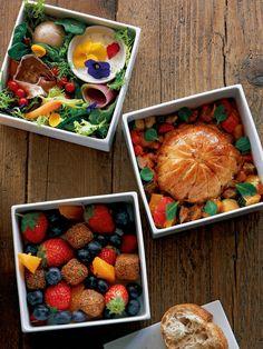 Lunch Box Recipe : フルコース仕立て! 大人のお花見BENTO