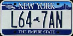 Resultado de imagen para new york state license plates Number Wallpaper, Car Number Plates, Family Chiropractic, 50 States, United States, Vintage Plates, Clipart, Empire State, New York
