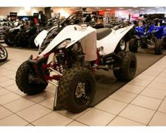 The Yamaha Raptor 350 is a four wheeler ATV and manufactured in 2009 and been used for over 3 years. For ATV enthusiasts, the Raptor 350 is one of the most ideal choices with great control, power and optional equipments. This All Terrain Vehicle is equipped with hydraulic disc brakes and delivers high performance owing to a powerful Yamaha 4-stroke engine. Being light in weight, it is very easy to ride around this ATV with utmost ease and convenience.