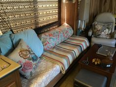 My new RV day bed