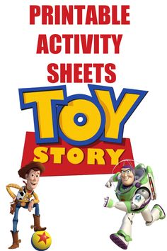 some Toy Story fun with Woody, Buzz and the whole gang! These Toy Story 4 Printable Activity Sheets include coloring pages, a maze, a bingo game, Forky craft and more! Disney And More, Disney Fun, Disney Pixar, Toy Story Birthday, Toy Story Party, 5th Birthday, Birthday Ideas, Movie Crafts, Long Lost Friend