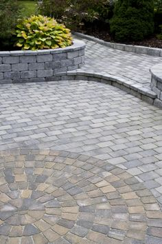 Stone Paver Patio Dream Yard