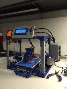 This RepRap machine is as self-replicating as a DIY 3D printer can get. #Atmel #RepRap #3DPrinting #3DPrinters #Makers