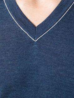 Salvatore Ferragamo V-neck Sweater - Il Bacio Di Stile - Farfetch.com
