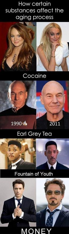 Thank God for Earl Grey!  I don't have time or money for anything else. Dump A Day How Certain Substances Can Affect Your Ageing - 4 Pics