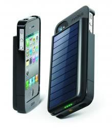 Eton Mobius: solar powered cell phone case and charger