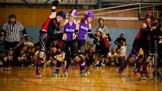 Blockodile Dundee by Rod Noendang of Roller Derby Fotos