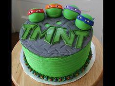TMNT Cake! Wicked!!