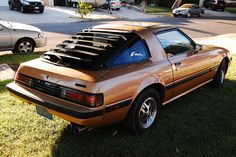 1983 Mazda RX-7 FB - our first car we purchased after moving to texas.