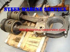 WE STEEL MARINE SERVICE ARE STOCKIDST/EXPORTERS OF MIRRLEES BLACKSTONE DIESEL ENGINE / SHIP'S MAIN / AUXILIARY ENGINE SPARES