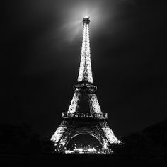 The Eiffel Tower in its glory.