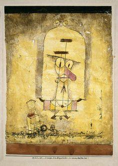Paul Klee. Dance You Monster to My Soft Song! (Tanze Du Ungeheuer zu meinem sanften Lied!). 1922 - Guggenheim Museum